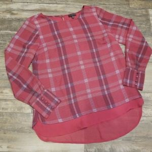 The Limited Red Blouse Size Small